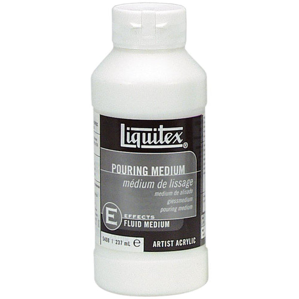 Liquitex Pouring Acrylic Fluid Medium 8oz - Artified Shop