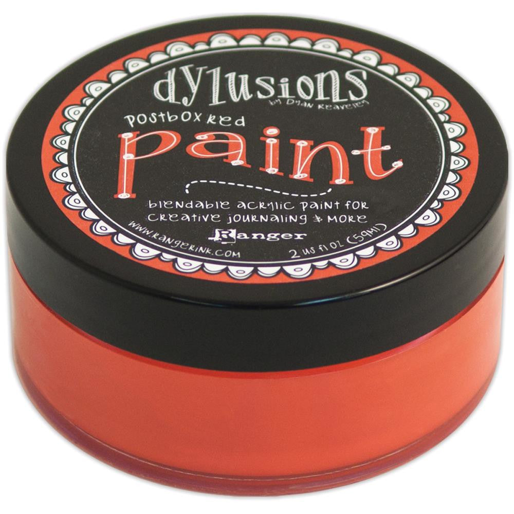 Postbox Red Dyan Reaveley's Dylusions Paint 2oz