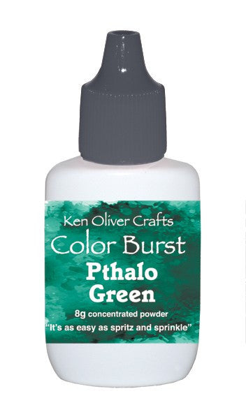 Ken Oliver - Color Burst - Pthalo Green