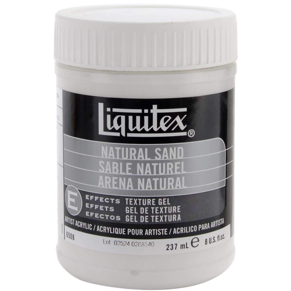 Liquitex Natural Sand Acrylic Texture Gel 8oz