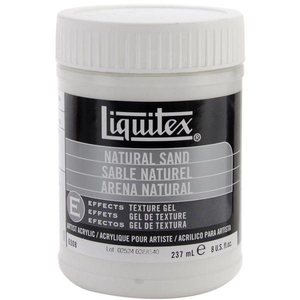 Liquitex Natural Sand Acrylic Texture Gel 8oz - Artified Shop