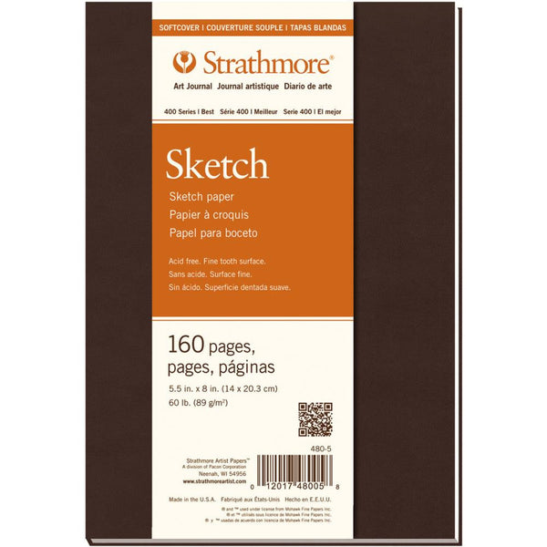 "Strathmore Softcover Sketch Journal 5.5""X8"" - Artified Shop"