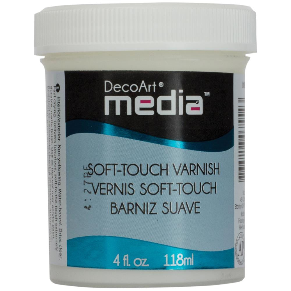Media Soft Touch Varnish 4oz