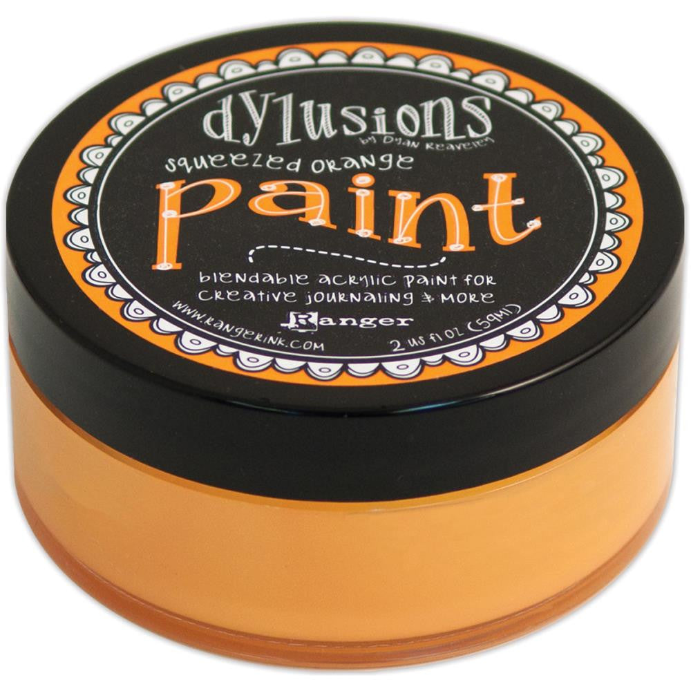 Squeezed Orange Dyan Reaveley's Dylusions Paint 2oz
