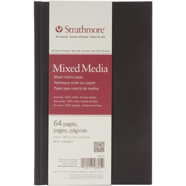 "Strathmore Mixed Media Art Journal 5.5""X8.5"" - Artified Shop"