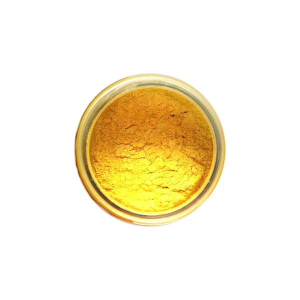 Finnabair Art Ingredients Mica Powder .6oz - Sunny Yellow