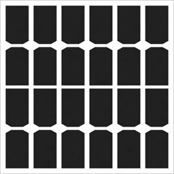 Swatter - 12x12 Template