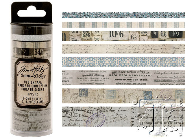 Idea-0logy Design Tape 8/Pkg - French - Artified Shop