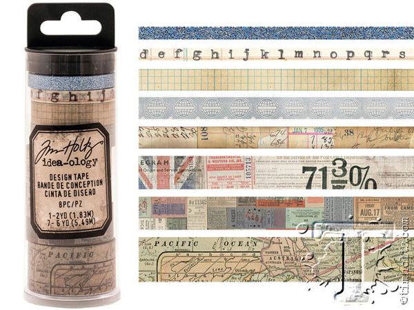 Idea-0logy Design Tape 8/Pkg - Journey - Artified Shop