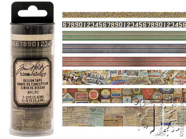 Idea-0logy Design Tape 8/Pkg - Travel