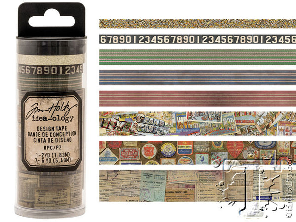 Idea-0logy Design Tape 8/Pkg - Travel - Artified Shop