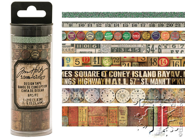 Idea-0logy Design Tape 8/Pkg - Vintage