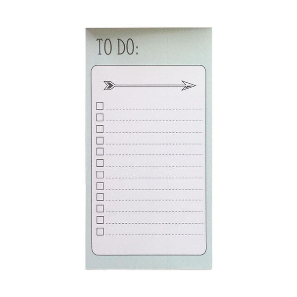 Planner Checklist Notepad W/25 Sheets - Small