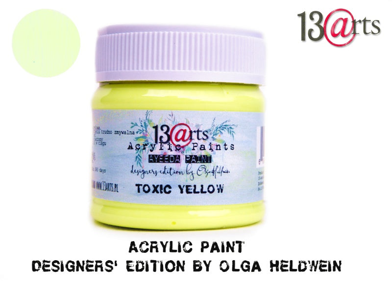Toxic Yellow Ayeeda Paint