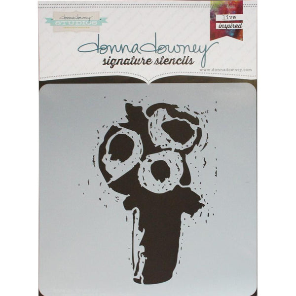 "*Trio Donna Downey Signature Stencils 8.5""X8.5"" - Artified Shop"
