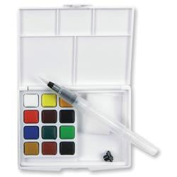 Koi Watercolor Pocket Field Sketch Box - Artified Shop