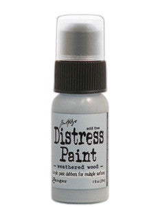 Weathered Wood Distress Paint