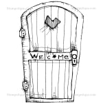PRE ORDER Welcome Door by Daniel Torrente - Artified Shop