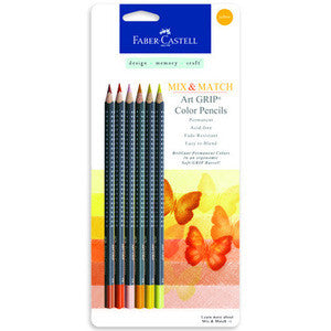 Yellow - Mix & Match Art GRIP Color Pencils 6/Pkg