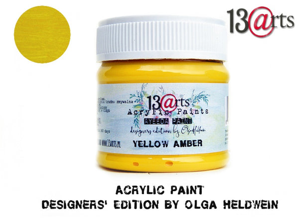 Yellow Amber Ayeeda Paint