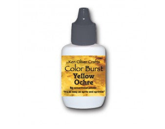 Yellow Ochre Ken Oliver - Color Burst