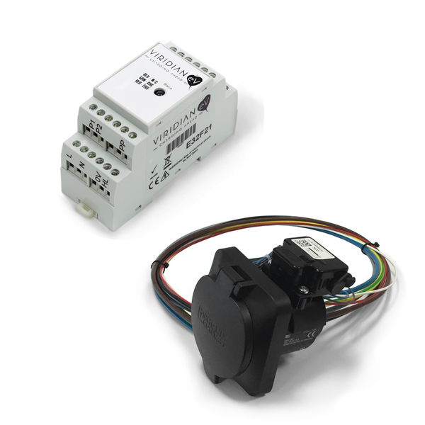 Free/Socket EVSE Controller Kit (EPC and Socket)