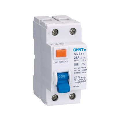 CHINT 63A Type A RCD (2 & 4 Pole Variants Available)