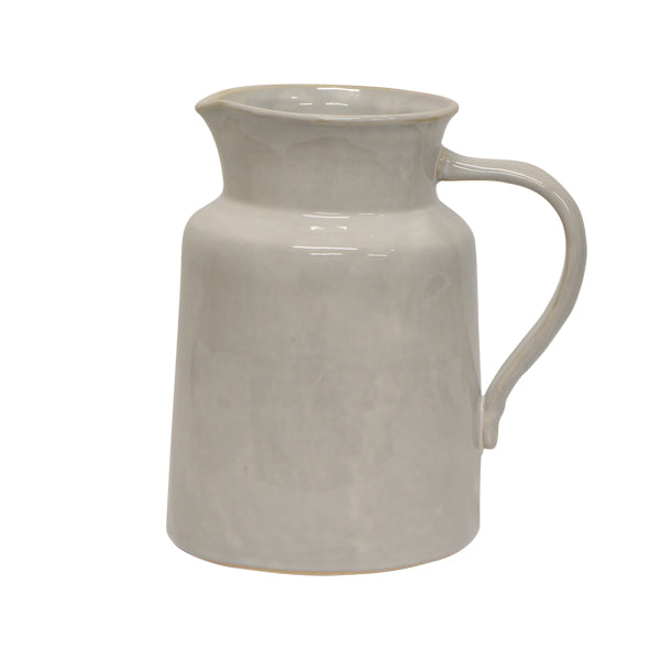 Franco Rustic White Pitcher Large