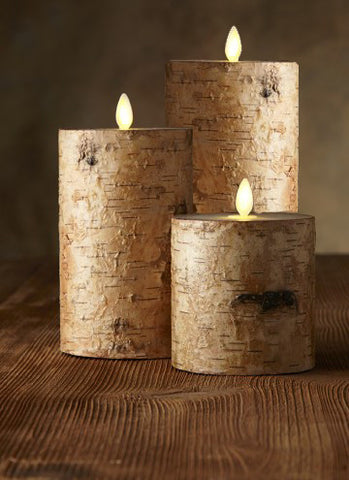 Luminara Indoor Birch Bark 10cm
