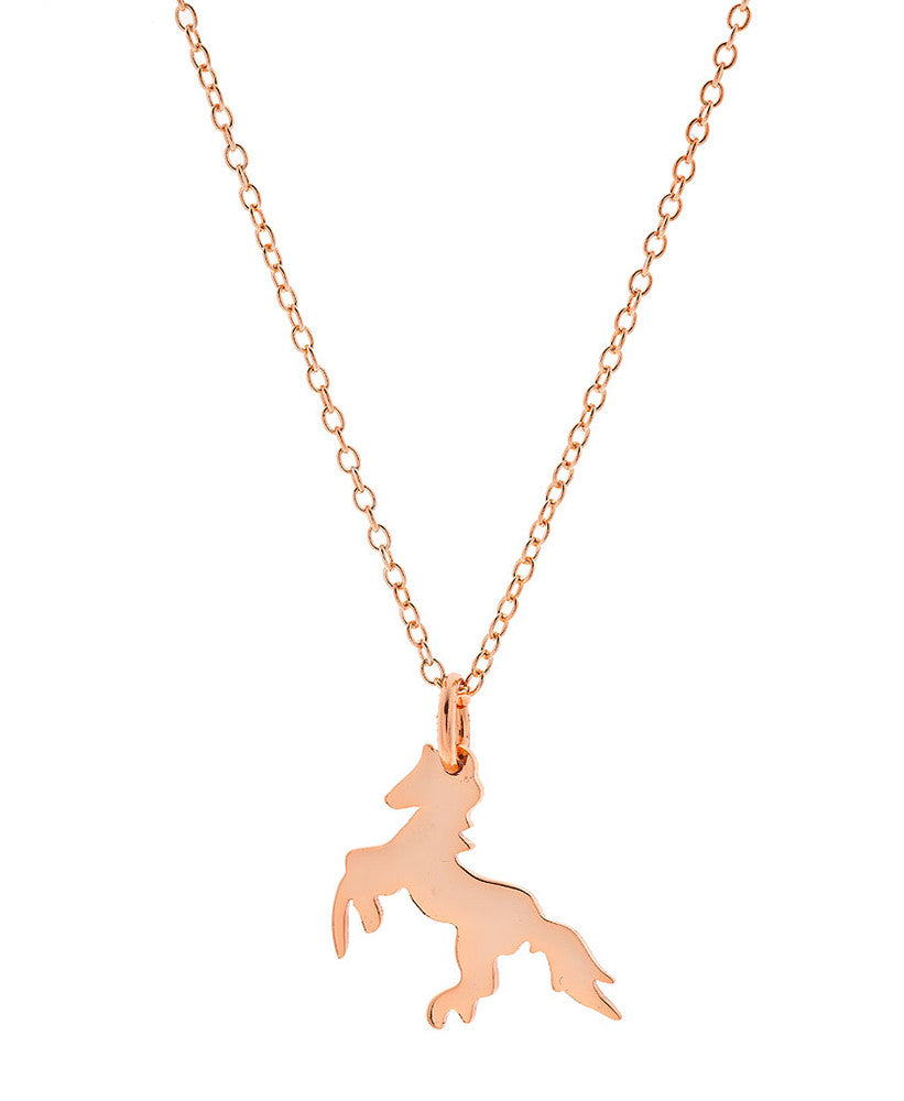 Playful Horse Necklace