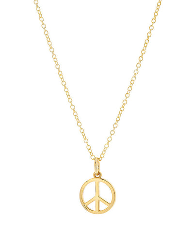 Hollow Karma Circle Necklace