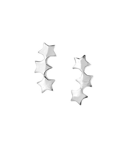 Abstract Triangle Stud Earrings