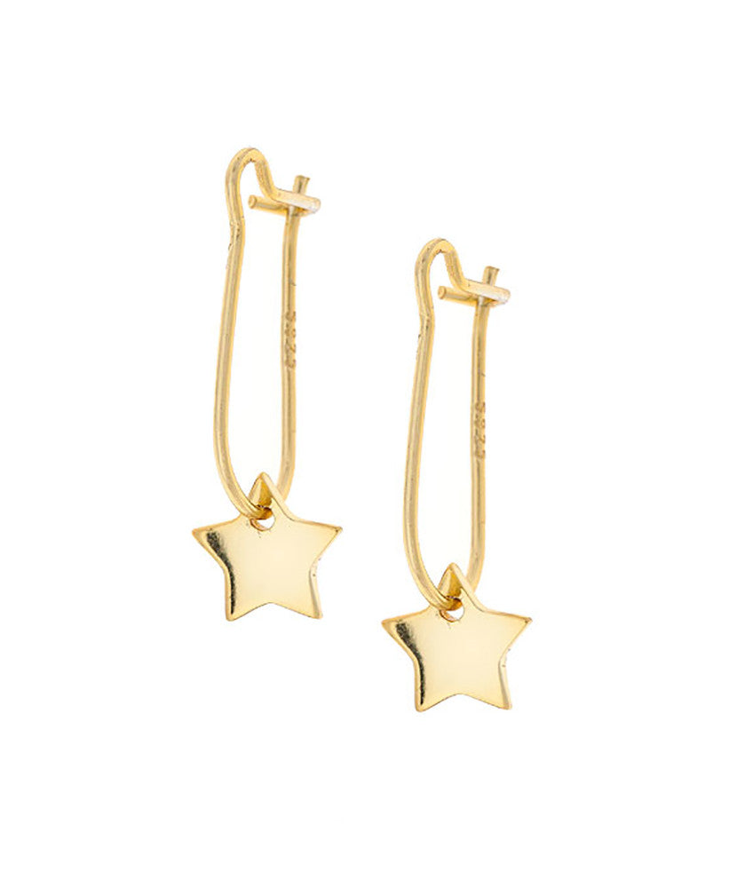 North Star Hook Earrings