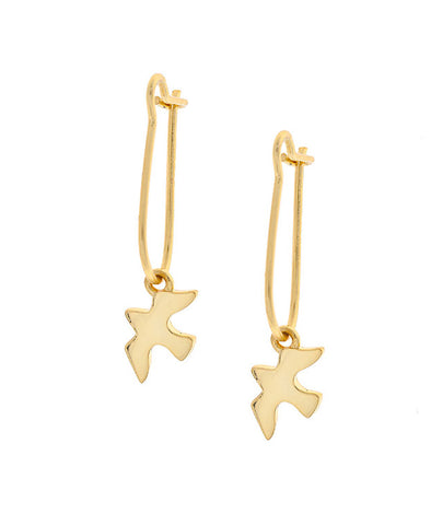 Star Gaze Drop Earrings