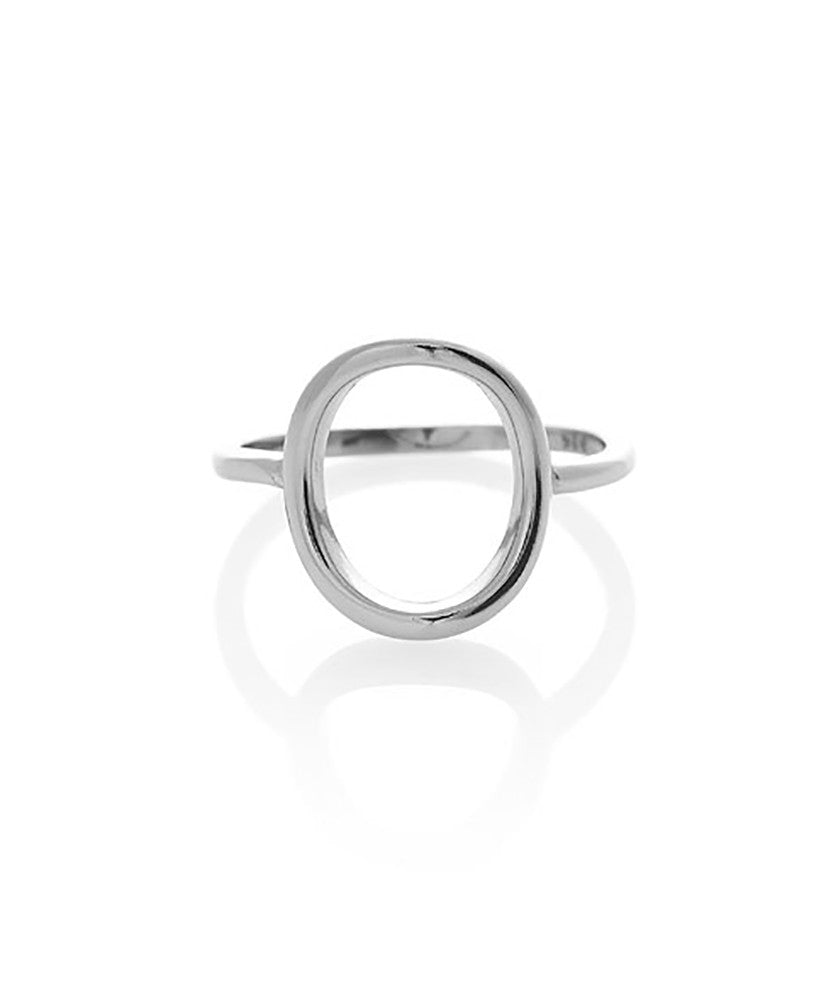 Hollow Oval Ring