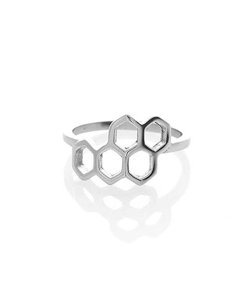 Geometric Honeycomb Ring
