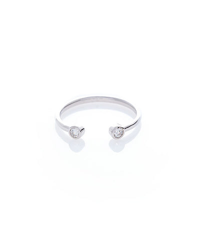 Double Curved Ring - Adjustable