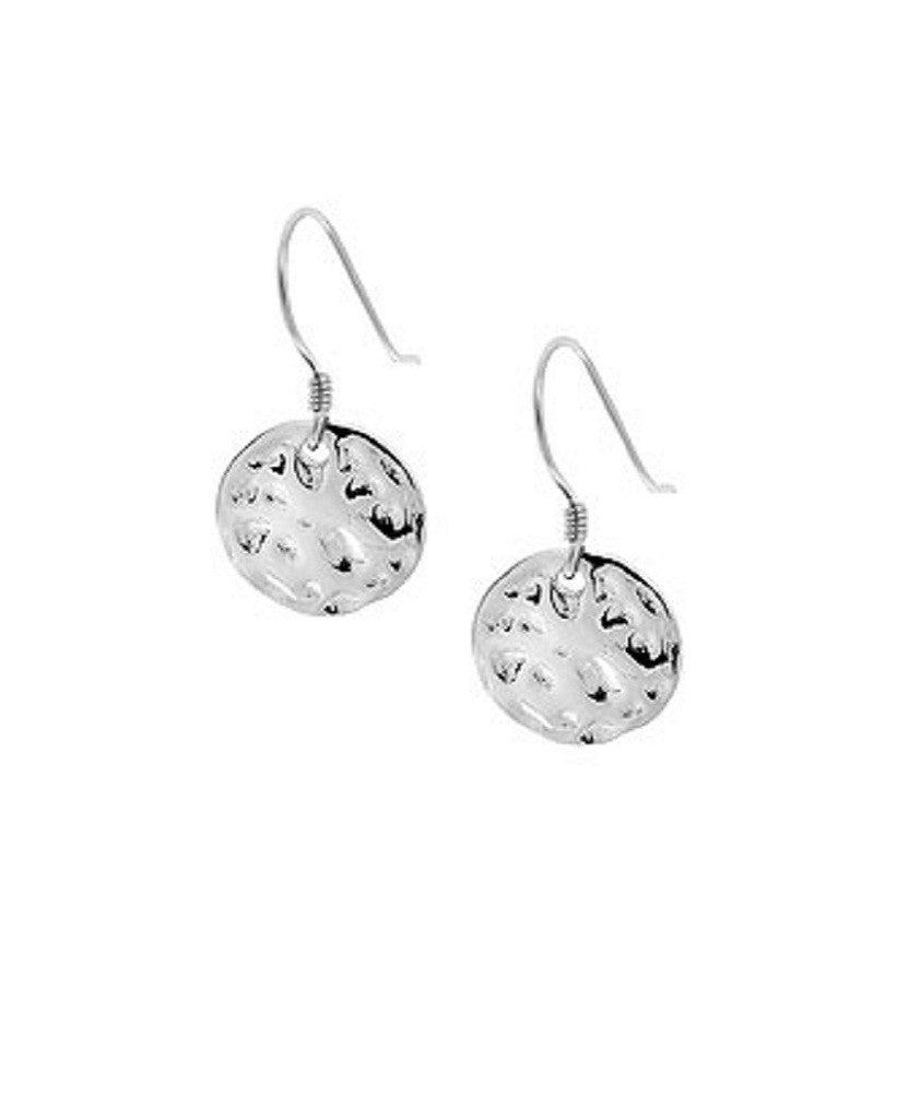 Moon Crater Hook Earrings