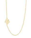 Folklore Protection (Hamsa Hand) Necklace