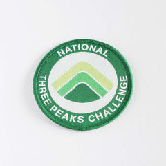 National Three Peaks embroidered/woven patch - Three Peaks Challenge - 2