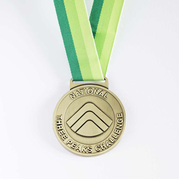 National Three Peaks Challenge Medal