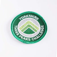 Yorkshire Three Peaks embroidered/woven patch - Three Peaks Challenge - 1