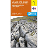 OS Explorer OL2 Yorkshire Three Peaks Challenge Map, Yorkshire Dales Southern & Western Areas