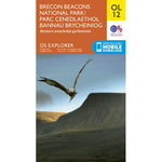 OS Explorer Map OL12 for Pen y Fan, Western Brecon Beacons