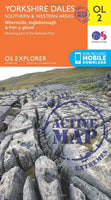 OS Explorer OL2 Yorkshire Three Peaks Challenge Map
