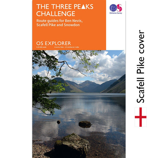 OS National Three Peaks Challenge Maps - Three Peaks Challenge - 1