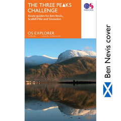OS National Three Peaks Challenge Maps - Three Peaks Challenge - 5