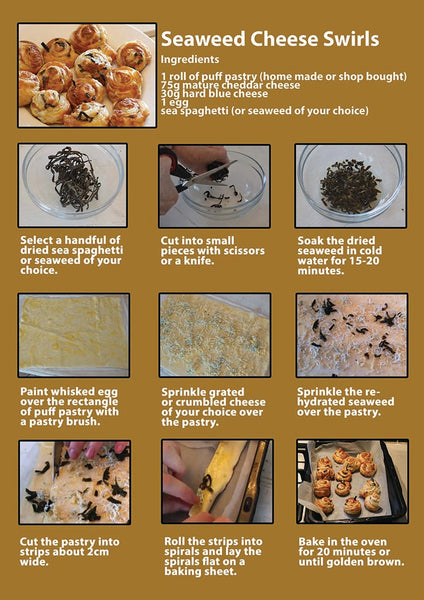 Seaweed Swirls recipe card