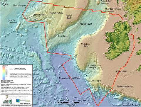 The Real Map of Ireland, Marine Institute
