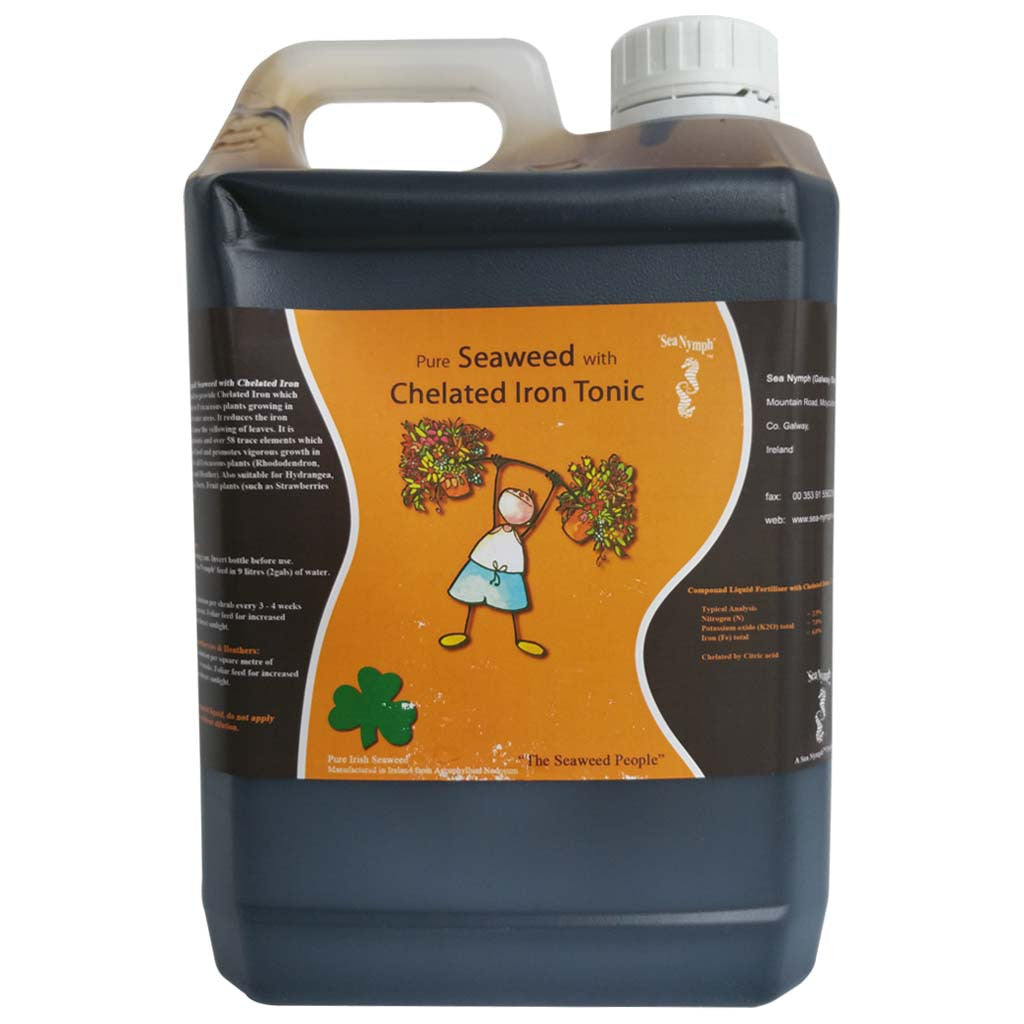 Seaweed with Chelated Iron Tonic 2 5ltr